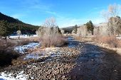 Winter on Florida River in Durango..