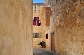 Narrow Street In Mdina