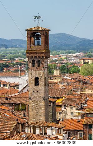 Clock Tower in Lucca