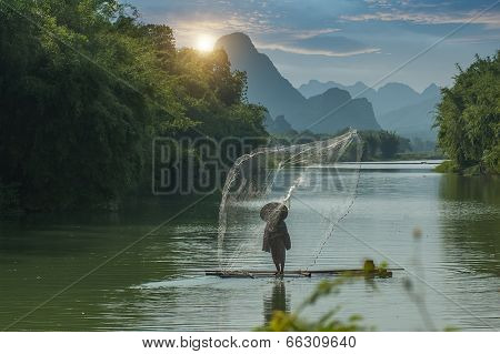 traditional fishing in China