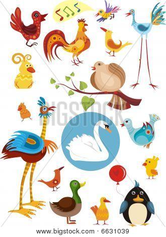 bird set