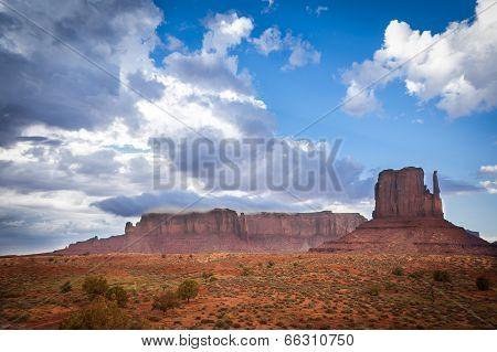 Magic Panoramic View Monument Valley