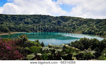 Botas Lake in Costa Rica
