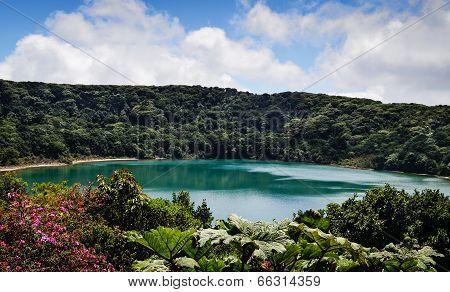 Bota Lake in Costa Rica