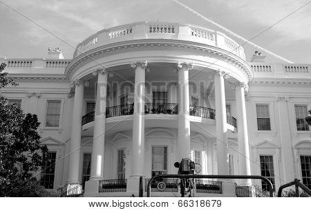 White House B/W