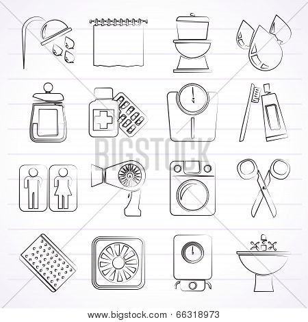 Bathroom and Personal Care icons