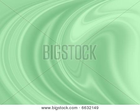 Mint Swirl Background