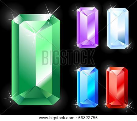 Rectangular Jewels