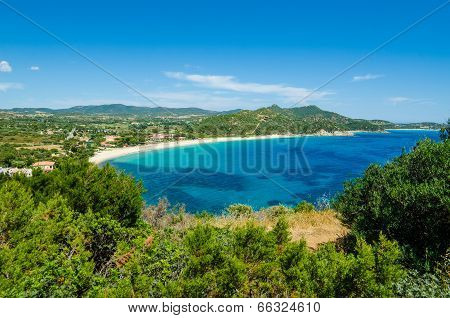 South coast of Sardinia