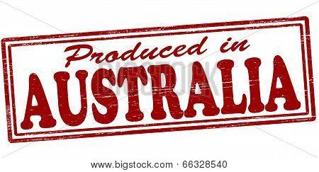 Produced In Australia