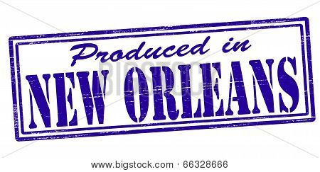Produced In New Orleans