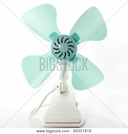 Closeup Electric Fan.