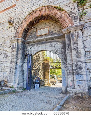 City walls Istanbul
