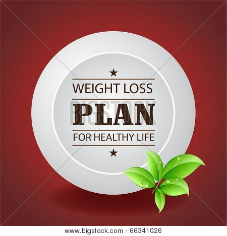 Weight Loss Plan Plate