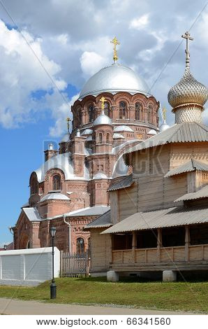 Svijazhsk. Cathedral Of Our Lady Of All The Afflicted And Trinity Church