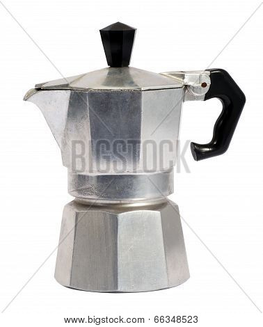 Metal Caffettiera Or Coffee Percolator
