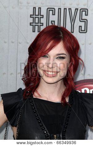 LOS ANGELES - JUN 7:  Chloe Dykstra at the Spike TV's