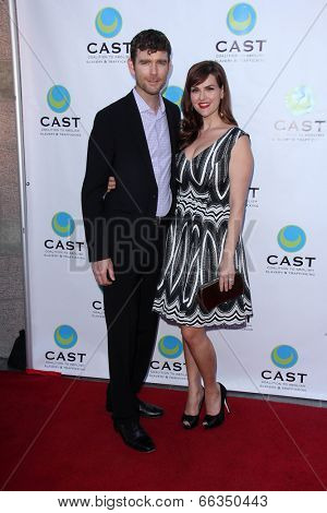LOS ANGELES - MAY 29:  Kevin Price, Sara Rue at the 16th Annual From Slavery to Freedom Gala Event at Skirball Center on May 29, 2014 in Los Angeles, CA