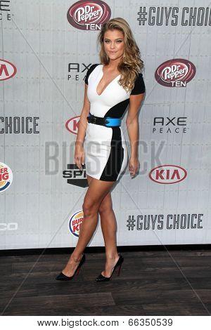 LOS ANGELES - JUN 7:  Nina Agdal at the Spike TV's