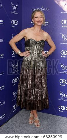 LOS ANGELES - JUN 7:  Rebecca Gayheart-Dane at the 13th Annual Chrysalis Butterfly Ball at Private Mandeville Canyon Estate on June 7, 2014 in Los Angeles, CA