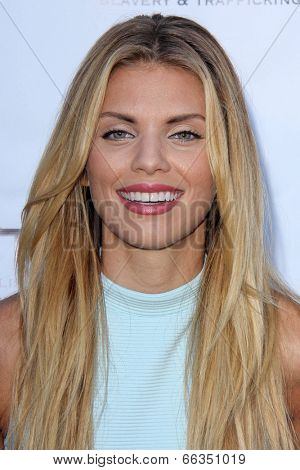 LOS ANGELES - MAY 29:  AnnaLynne McCord at the 16th Annual From Slavery to Freedom Gala Event at Skirball Center on May 29, 2014 in Los Angeles, CA