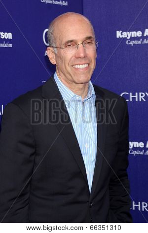 LOS ANGELES - JUN 7:  Jeffrey Katzenberg at the 13th Annual Chrysalis Butterfly Ball at Private Mandeville Canyon Estate on June 7, 2014 in Los Angeles, CA