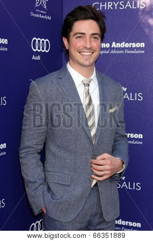LOS ANGELES - JUN 7:  Ben Feldman at the 13th Annual Chrysalis Butterfly Ball at Private Mandeville Canyon Estate on June 7, 2014 in Los Angeles, CA