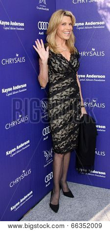 LOS ANGELES - JUN 7:  Vanna White at the 13th Annual Chrysalis Butterfly Ball at Private Mandeville Canyon Estate on June 7, 2014 in Los Angeles, CA