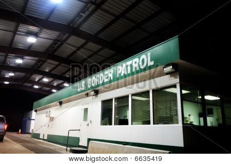 Us Border Patrol Building