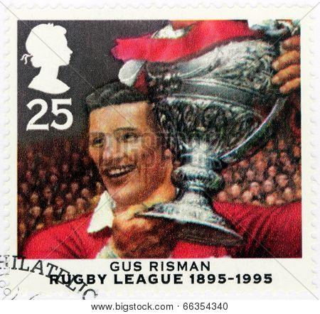 Gus Risman Stamp