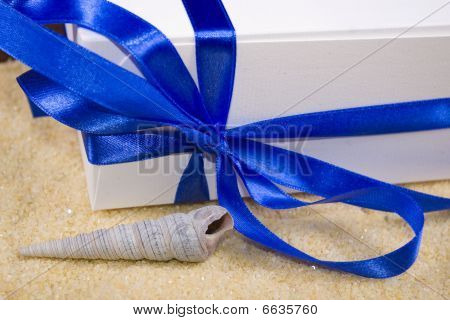 Photo Of Gift Box And Shell