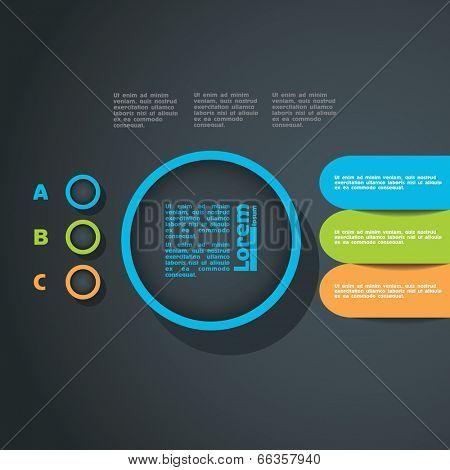 template design menu navigation elements