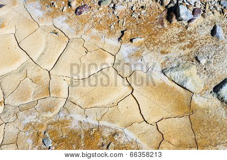 dry soil texture for background