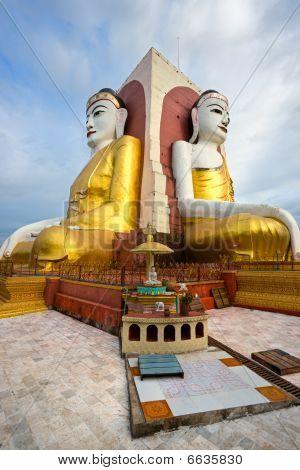 Kyaik Pun Paya, Bago, Myanmar.