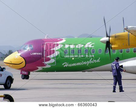 HS-TRA ATR72-200 of Nokair