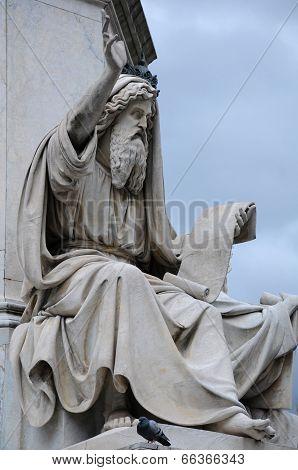 Statue Of Ezekiel