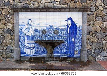 Old Traditional Drinking Fountain