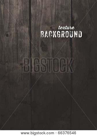 Vintage Wood Background. Vector.