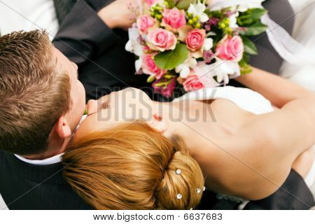 Wedding - tenderness