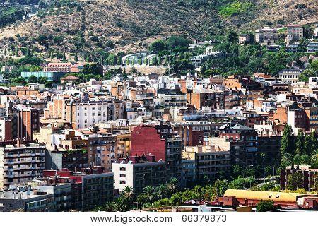beautiful Barcelona on a sunny day