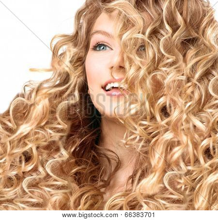 Logically girls with blonde curly hair interesting idea