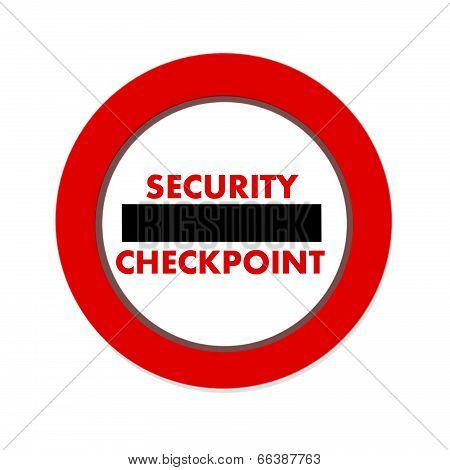 Security Checkpoint Icon