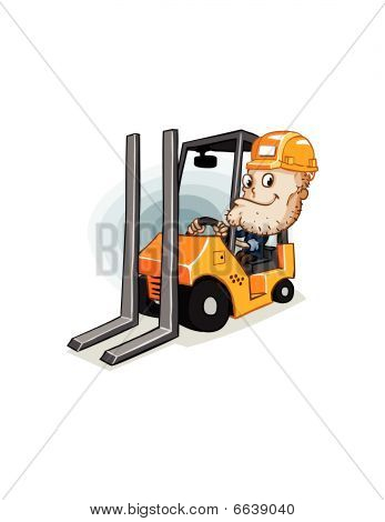 Forklift And Labor