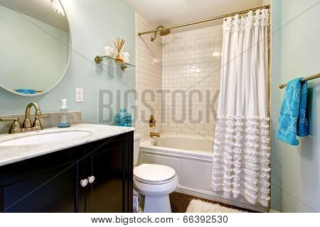 Bathroom In Old House