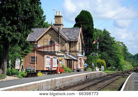 Railway station, Hampton Loade.
