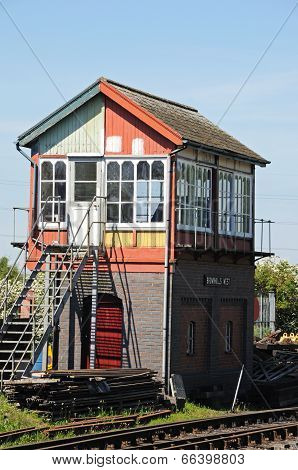 Signal box, Brownhills West.