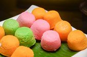 foto of malay  - Malay colourful traditional dessert  - JPG