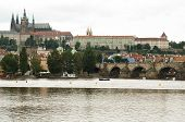 stock photo of bohemia  - Prague Castle is a castle in Prague where the Kings of Bohemia Holy Roman Emperors and presidents of Czechoslovakia and the Czech Republic have had their offices - JPG