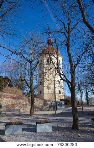 View Of Glockenturm Tower Bell On Schlossberg Hill, Graz