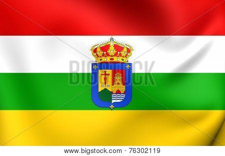 La Rioja Flag, Spain.
